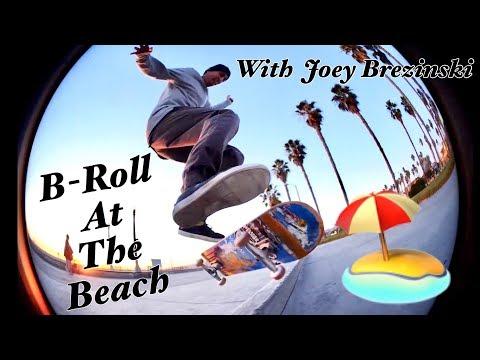 B Roll At The Beach With Joey Brezinski