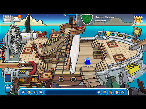 Club Penguin - Rockhopper's Quest 2012 Walkthrough