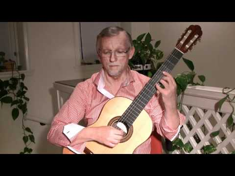 0 G. F. Handel: Aria from Rinaldo on classical guitar