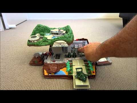 how to build lego thunderbird 2