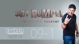 Livestream SgtRumpel #09 Part A