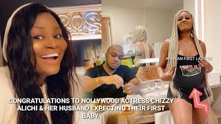 Good News! Chizzy Alichi And Her Husband Expecting Their First Baby| Congratulations😍👍🏼
