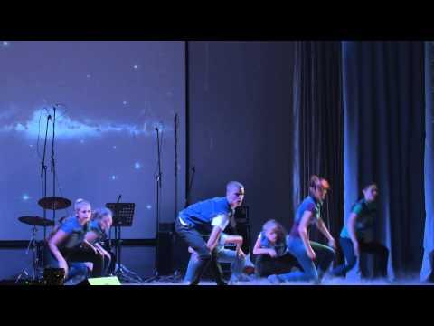 День первокурсника. Выступление танцевального коллектива Flame