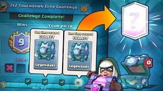 OPENING x2 FREE LEGENDARY CHEST! & WINNING NEW CHALLENGE! |  Clash Royale | KINGS CUP DOMINATION!