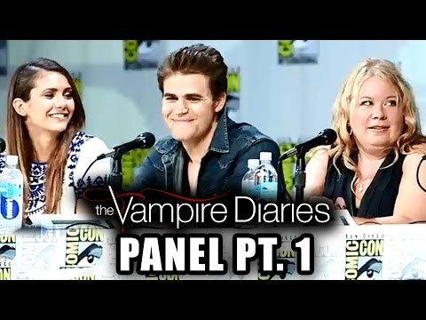 The Vampire Diaries Panel Part 1 - Comic-con 2014 video
