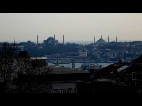 Istanbul city portrait timelapse movie in HDTV