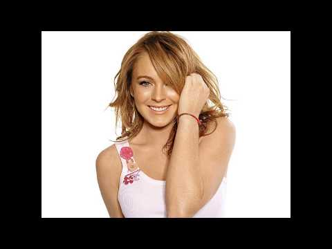 Lindsey Lohan bra