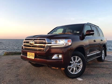 2016 Toyota Land Cruiser - TestDriveNow.com Review with Steve Hammes