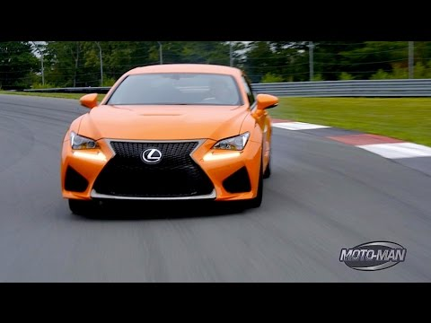 2015 Lexus RC F - First Drive ON TRACK with Lexus Chief Engineer Yukihiko Yaguchi