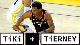 NBA BANS Warriors Investor For Shoving Kyle Lowry! | Tiki + Tierney