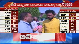 MP Ram Mohan Naidu Talks About TDP No Confidence Motion
