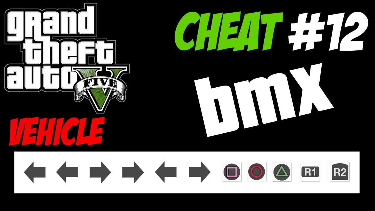 GTA 5 Trucchi #12 - BMX [PS3 Xbox 360 HD ITA] Cheat Codes Bike ...