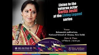 "Living Legend - ""SARITA JOSHI"" 12-MAR-2018 - LIVE"