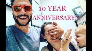 10 YEAR ANNIVERSARY SURPRISE PRESENT!!!