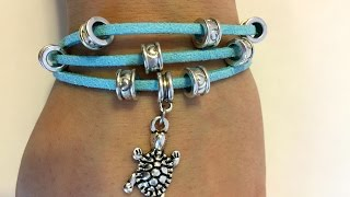 DIY Layered Charm Bracelet