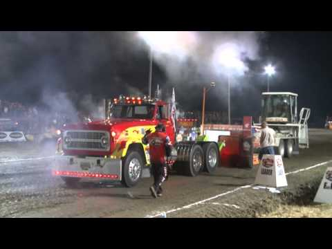 OSTPA 2014: PS Semis Trucks Pulling at Oak Harbor, OH