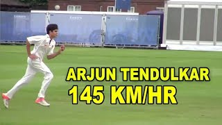 Arjun Tendulkar bowls at Lord's 2015 Vs practice in Mumbai 2013