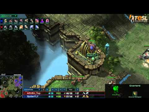 TESL - Fly (Z) vs Top (T) - StarCraft 2 - Season Two Round Robin - G002