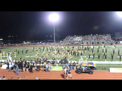 Pell City High School Marching Band of Gold 2014