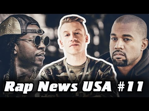 RapNews USA #11 [Kanye West, 2 Сhainz, Macklemore]