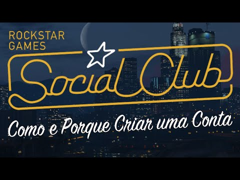 Rockstar Social Club - Como Criar uma Conta