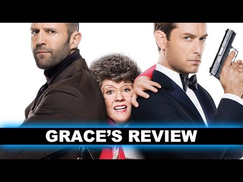 Spy Movie Review - Melissa McCarthy. Jason Statham 2015 - Beyond The Trailer