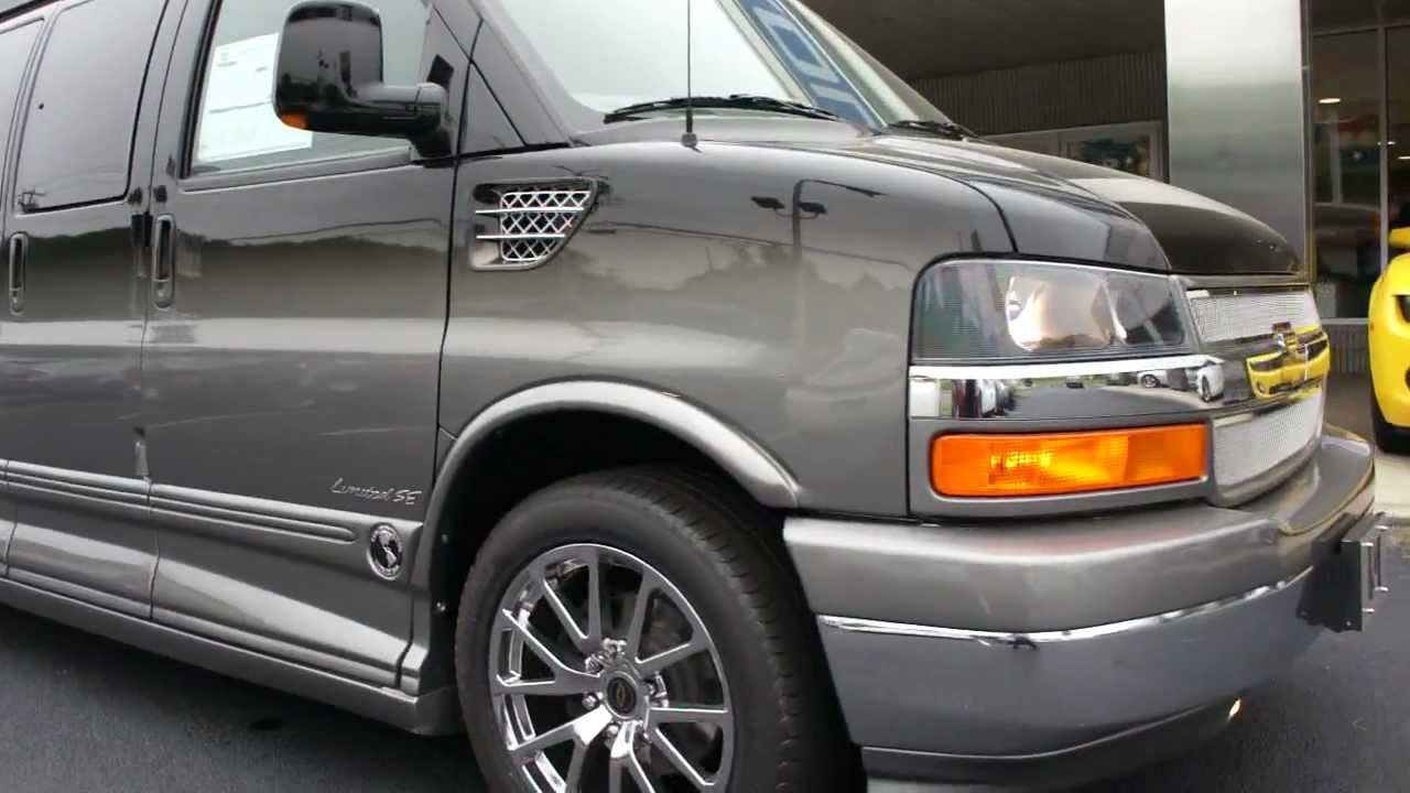 Brand New Chevy Express Explorer Limited Se Conversion Van