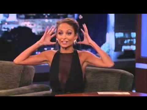 Nicole Richie on Jimmy Kimmel Live PART 1