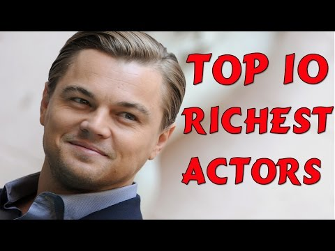 Top 10 Richest Actors In The World 2015 | Top 10 Richest People