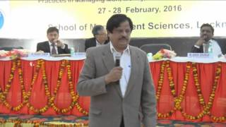 National Conference 2016@SMS Lucknow-Mr. Kumar Lalit G M-Head (HR, IR & Admin.) Tata Motors,Lko.-II
