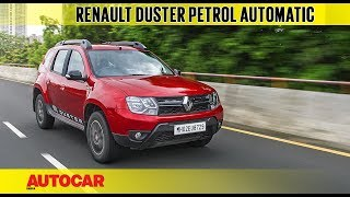 Renault Duster Petrol CVT | First Drive Review | Autocar India