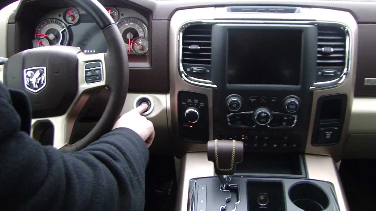 2013 ram 1500 laramie longhorn interior video tour - Dodge ram 2500 laramie longhorn interior ...
