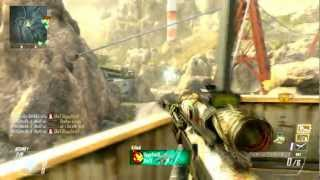 DSR-50 Awesome Killfeed Getting Lodestar Killstreak (Call of Duty Black Ops 2)