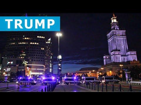 Kulisy Wizyty Trumpa W Warszawie / President Trump In Warsaw