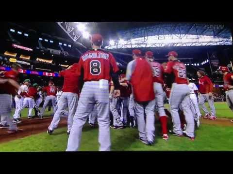COMPLETE World Baseball Classic Brawl - CANADA VS MEXICO Mar 9 2013 Best Brawl!
