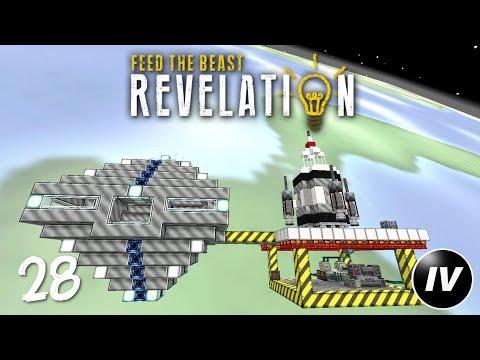 FTB Revelation - Ep 28 - Space Station