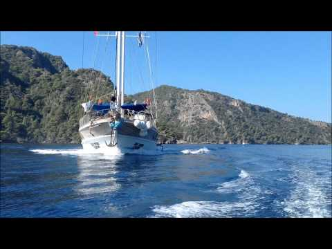 sun marine yatching blue cruise Turkey