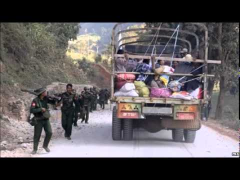 Myanmar asks China for help to stop 'terrorist' attacks