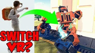 NINTENDO SWITCH VR! New Nintendo Switch Games and Accessories? Nintendo Labo