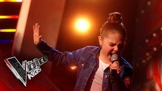 Keira Performs 'Zero To Hero' | The Semi Final | The Voice Kids UK 2019