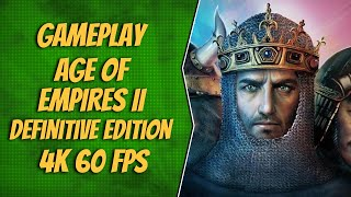 AGE OF EMPIRES II: DEFINITIVE EDITION - GAMEPLAY FROM E3 2019 [4K 60FPS]