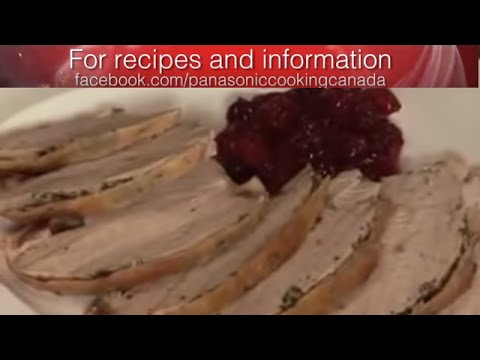 Turkey Recipe   Panasonic Cooking Canada
