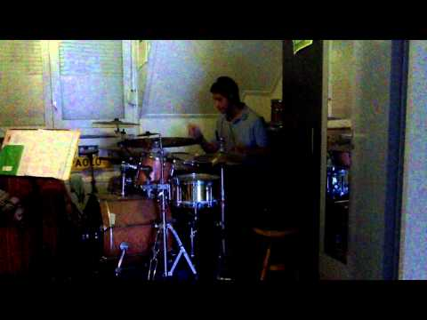 drumcover van Hollywood Fats ''have a good time'' by Paolo de Stigter