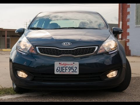 Reviewed: 2012 Kia Rio SX