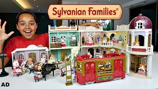Sylvanian Families Calico Critters Sylvanian Families Town | Kids Toys Review