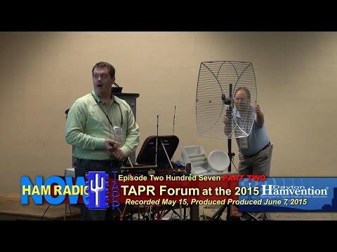 HRN 207 Part 2: TAPR Forum at the 2015 Hamvention on HamRadioNow