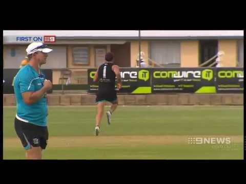 Port Adelaide Training | 9 News Adelaide
