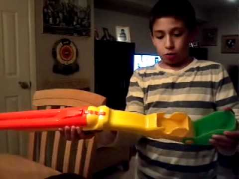 How to use a nerf double barrel shotgun