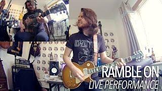 Ramble On - Led Zeppelin  (Full Guitar Cover) Best on YouTube