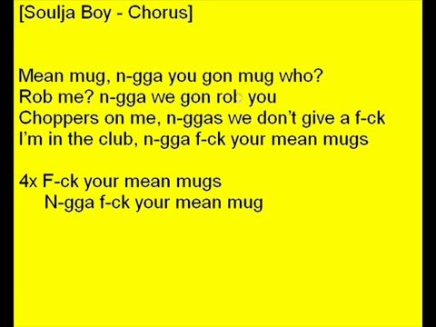 Soulja Boy ft 50Cent  Mean Mug Lyrics